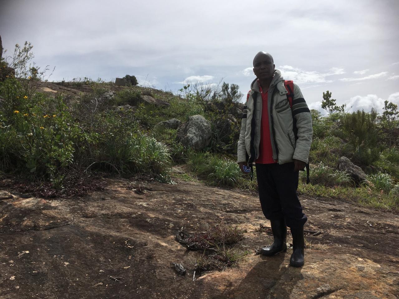 Nature guide in Taita Hills -BensonLombo